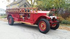American Lafrance firetruck. ... looks like early 1930s...   its been so long ago,  i just dont remember. I picked this up from a fire department near Grafton WI