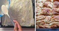 Ο μαγικός χυλός για να κάνετε τις πίτες με έτοιμα φύλλα να μοιάζουν με σπιτικές. Cooking Time, Cooking Recipes, Greek Appetizers, Bread Oven, Greek Sweets, Savory Muffins, Greek Dishes, Greek Recipes, Food Design