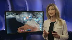 Presenting your weather forecast with a touch screen delivered by WeatherOne AS. www.weatherone.tv
