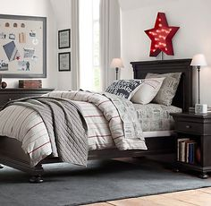 Vintage Baseball Stripe Ticket Bedding Collection