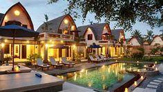 Hotel Vila Ombak, Gili Trawang Island, Lombok