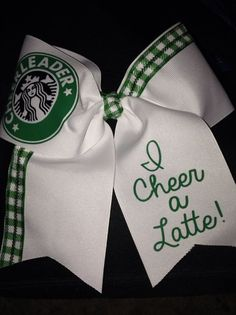 I cheer a latte!