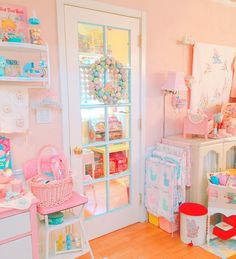 The Cutest Vintage Toys From The & So Kawaii! by CuteVintageToys Room Ideas Bedroom, Girls Bedroom, Bedroom Decor, Cute Room Ideas, Cute Room Decor, Kawaii Bedroom, Pastel Room, Aesthetic Room Decor, Dream Rooms