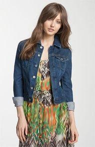 AG Jeans 'Robyn' Stretch Denim Jacket | Nordstrom