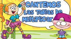 CANCIONES TABLAS DE MULTIPLICAR DEL 1 AL 10 (Aprender Cantando) Ludo, Dora, Simple Math, Music For Kids, Third Grade, Mathematics, Smurfs, Education, Comics
