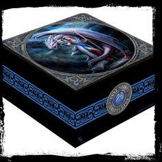 Anne Stokes Dragon Mage Trinket Box