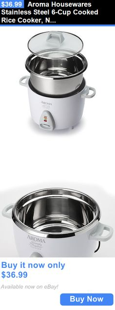 small kitchen appliances  aroma housewares stainless steel 6 cup cooked rice cooker new small kitchen appliances  aroma housewares professional 5 quart      rh   pinterest com