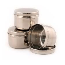 Kids Konserve - Mini Containers - Set of 3 - dip anyone?  Salad dressing?