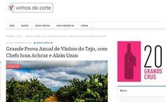 #vinhosdotejo #cvrtejo #winesoftejo Caravana dos Vinhos do Tejo' - 'Grande Prova Anual de Vinhos do Tejo' no Site Vinhos de Corte, por Daniel Perches. Com Wine Senses.