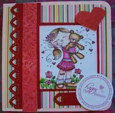 Send A Smile 4 Kids Challenge Blog:TEAM S.A.S. Card by Joyce