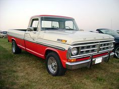 1971 Ford F-250.         Jordan wants one of these.