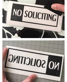 Are you a business owner in need of a No Soliciting decal for either the inside or outside of your window? Check out my decal! Available in a normal cut (to go on top of the window), or a mirrored cut (to be placed on the inside of your window so it reads from the outside).  https://www.etsy.com/listing/290816103/no-soliciting-decal-no-soliciting-sign  no soliciting, business, business owner, decal, business decal, window sign, window decal