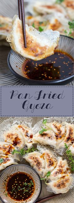 Pan-fried Gyoza with a Crispy Lattice Coating: juicy on the inside, crispy on the outside! Just as delicious as restaurant-made without the expensive price!