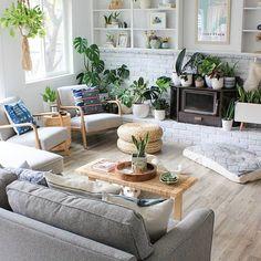 Interior Rendering, Room Interior Design, Kids Room Design, Interior Photo, Scandi Living Room, Living Room Decor, Style Deco, Living Room Inspiration, Bohemian Decor