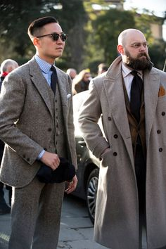 「The sharp and dapper crew of Sharp And Dapper, Sharp Dressed Man, Well Dressed Men, Dress Suits, Men Dress, Suit Fashion, Mens Fashion, La Mode Masculine, Tweed Suits