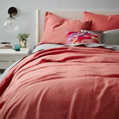 Belgian Linen Quilt Cover + Pillow Shams