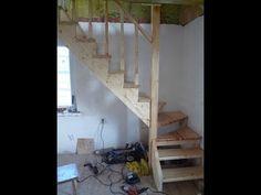 Какой может быть лестница на второй этаж, как ее рассчитать, принципы построения и монтажа винтовых, маршевых конструкций, лестниц на больцах. Stairs, Home Decor, Staircases, Stairway, Decoration Home, Room Decor, Home Interior Design, Ladders, Home Decoration