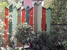 Sichtschutz am Gartenzaun