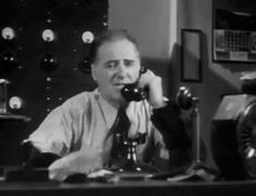 0 Joseph E. Bernard on the phone in  murder in the clouds 1934