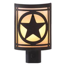 Western Star Night Light