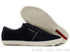 Luxury Footwear in Dark Blue Outlet store Prada Sneakers, Prada Shoes, Prada Tote, Prada Men, Cheap Shoes, Shoes Outlet, Shoe Sale, Dark Blue, Footwear