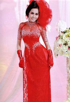 BRIDAL WEDDING DRESS - Red a24b7650dd78