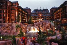 Disney's Wilderness Lodge - one of my favorite places to stay especially at Christmas
