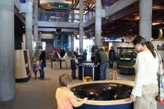 Hands-on Science Museum. Make a day of it and visit the nearby King Arthur Flour Store too! Montshire Museum of Science | Norwich, VT