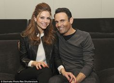Cute couple: The news anchor and actress has been dating college sweetheart Kevin Undergaro since 1998 - when they met at Emmerson College - and also stars in reality show Chasing Maria Menounos with him