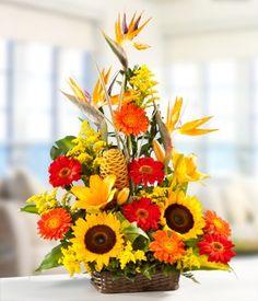 Tropical Dawn flower arrangement