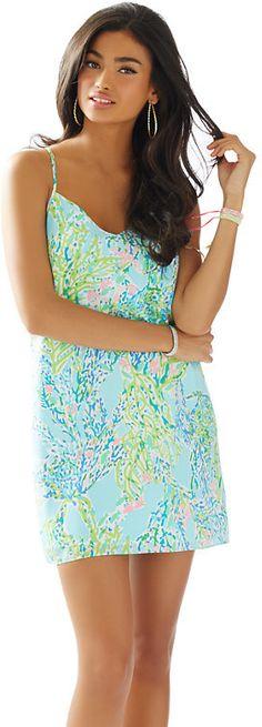 Dusk Strappy Silk Slip Dress
