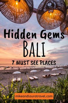 Bali is a congested tourist island, but with these 7 places sure to get your off.Bali is a congested tourist island, but with these 7 places sure to get your off the beaten path and away from the crows. Add these amazing places in Bali to your buc 7 Places, Cool Places To Visit, Places To Travel, Travel Destinations, Bali Travel Guide, Asia Travel, Solo Travel, Travel Bag, Disney Travel