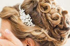 Bridal preparations cornwall wedding photography - hair