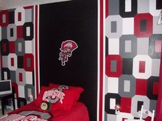 Ohio State Bedroom On Pinterest Ohio State Buckeyes