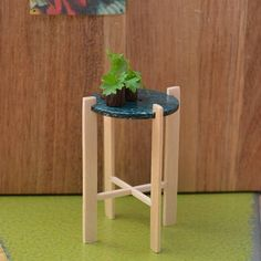 Handmade 1:12 scale Miniature Side Table