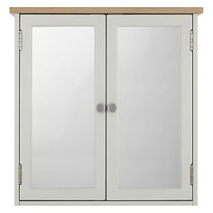 Buy John Lewis Croft Collection Blakeney Double Mirrored Bathroom Cabinet Online at johnlewis.com