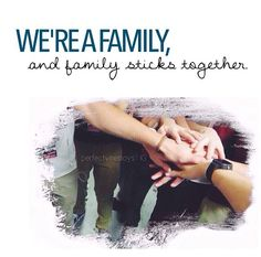 No matter who is in and who is out, the family sticks together. A tour is a tour, but you can't separate family, it's impossible. #MAGCONFAM