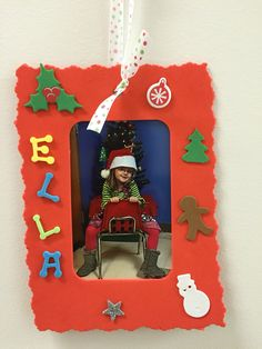 It doesn't get any easier than Dollar Tree foam Christmas crafts for preschoolers.