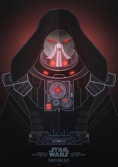 ArtStation - Villains - Darth Malgus, Jonathan Lam & Petros Afshar