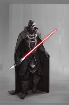 Cool Star Wars character redesign art. Pretty badass version of Darth Vader.