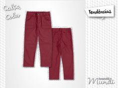 Aquela peça de roupa que vai fazer a diferença no guarda-roupa dos meninos nesse inverno são as calças color. #temqueter #fashionkidsMundi