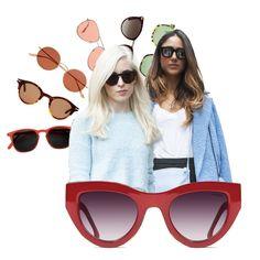 Lunettes de soleil femme été 2018   40 paires de lunettes de soleil pour  femme tendance pour l été 2018 4b46a6a4b5c0