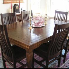 """""""We love love love ❤️ our new table! None of can walk by it without running our hand over the beautiful finish. It's PERFECT. Now I want more Mackenzie Dow furniture. """" -Ann****#blush #happycustomer #dining #diningroom #madeinwv #madeinusa #americanmade #wood #woodfurniture #handcrafted #benchmade #review #happy #interiordesign #kitchen #huntingtonwv #chairs #kitchenchairs"""