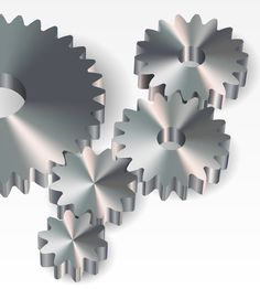 How to Create Proper Gears Using the Dynamic Shapes Tool, PathScribe Tool and Adobe Illustrator by Iaroslav Lazunov on Astute Graphics
