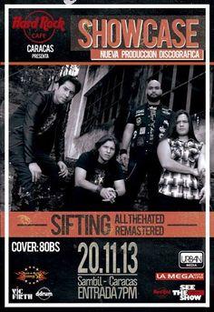 Cresta Metálica Producciones » El próximo 20 de noviembre en Hard Rock Café Caracas Sifting presenta su primer trabajo discográfico!!!