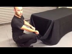 Draping a Banquet Table - YouTube