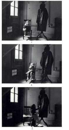 Duane michals, sequence photo and this photo has shutter speed and black and white included into the photo.