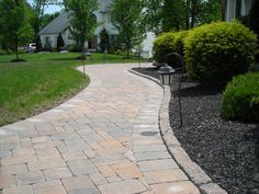 sidewalk ideas beautifully landscaped formal entrance mulched