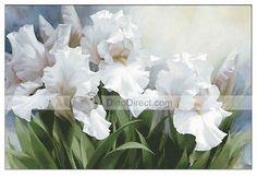 Iris Flower Counted Cross Stitch Kit