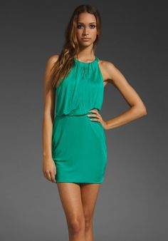 Jay Godfrey Fontane T-Back Jersey Dress!!